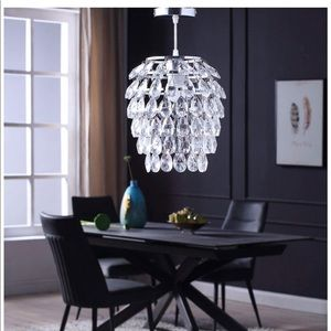Other - NWT Crystal Light Fixture